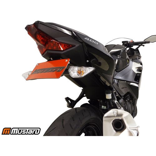 For Kawasaki ZX-6R 2009-2018 Motorcycle Rear License Plate Bracket Tail Tidy